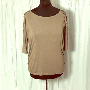 Light Brown ... Have Top with sequins Size 3x